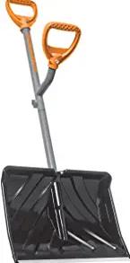 ErgieShovel ERG-SNSH18 Steel Shaft Impact Resistant Snow Shovel