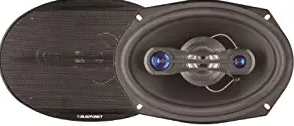 "Blaupunkt GTX691 Car Speaker 6"" x 9"" 4-Way Coaxial Speaker Pair 700Watts"