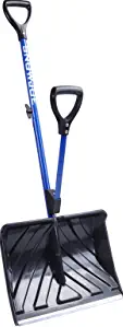 Snow Joe SJ-SHLV01 Shovelution Strain-Reducing Snow Shovel